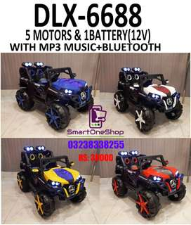 Battery Cars for Kids 4x4 Jeeps