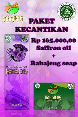 Saffron oil dan Natural Soap