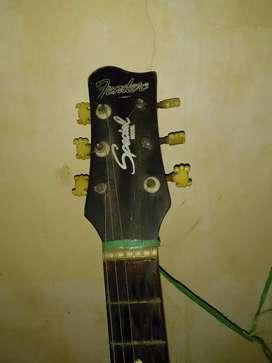 Dijual cepat gitar akustik merk fender