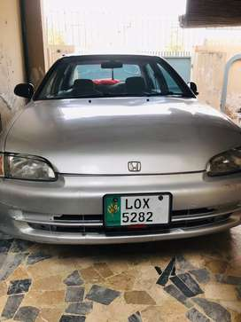 Honda civic EXI 1995 model 1300cc