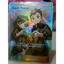 Coach trainer full art ultra rare - Unified minds
