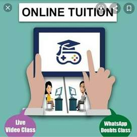 Online tution available for classes upto +2