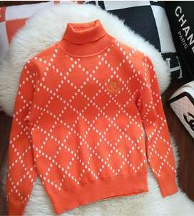 Sweater blus chanel