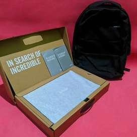Laptop Asus Ryzen 5 ram 8GB ssd 256GB+1TB HDD garansi on 2022 bulan 1