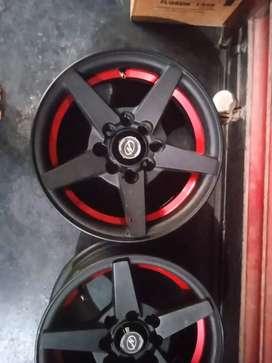 13inch New Neon Alloy wheels for alto, santro