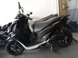 Yamaha Freego 125 bagasi luas