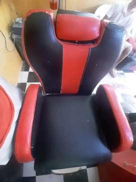 Three Saloon Chairs