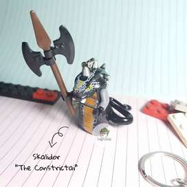 Gantungan Kunci Lego Ninjago Minifigure Skalidor The Constrictai