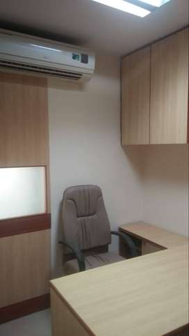 This office is 1 Reception Area and 4 Worktion.