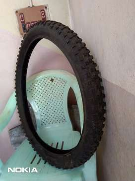 "Mountain bicycle 26"" Original nylon tyre ( front or back )"