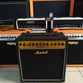 Amplifier marshall 8inch custom gress garansi 1th