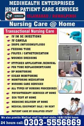 Required home Nursing care services staff