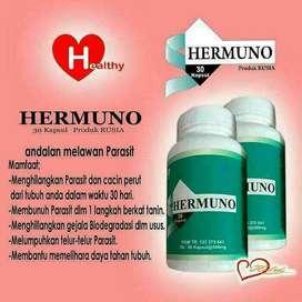 Hermuno kapsul obat parasit ampuh