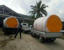 Gudang tandon air 2000 liter bahan plastik tiga lapis wonosari