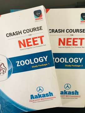 NEET Crash Course ZOOLOGY Study Package