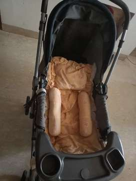 Baby Pram 0-6 years with 2 baby Beddings plus 3 pillows