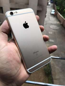 iphone 6S ... prime condition - GOLD (16GB)