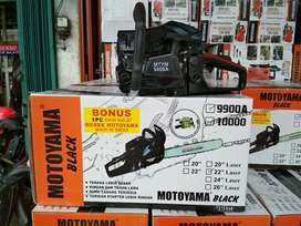 chainsaw motoyama black 9900A