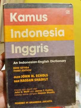 Kamus Indonesia - Inggris