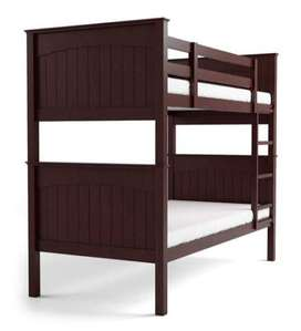 USED BUNK BED IN NEW CONDITION WITH BOSTON MEMORY FOAM MATRESS