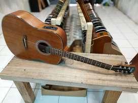 Gitar Akustik Elektrik jumbo oval