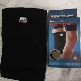 Knee support mizuno pendek deker pelindung lutut