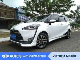 [OLXAutos] Toyota Sienta 1.5 Q Bensin A/T 2017 Putih #Victoria