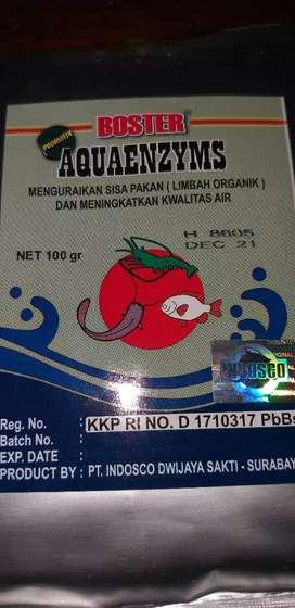 Dijual Aquaenzym booster pengurai limbah untuk ikan udang
