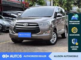 [OLX Autos] Toyota Kijang Innova 2016 2.4 G A/T Diesel Coklat #Allison
