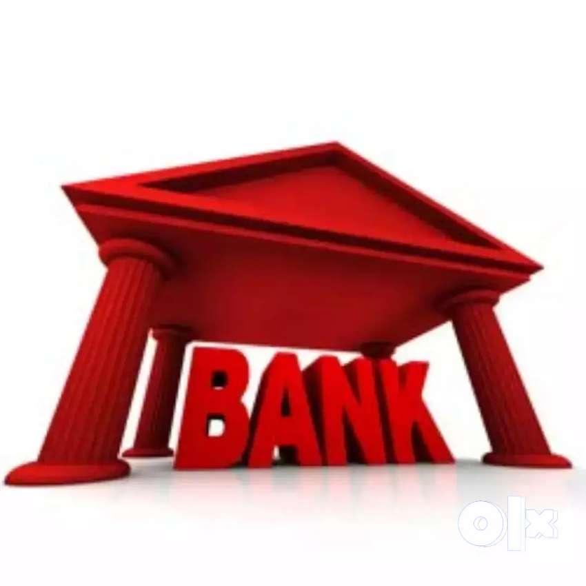 BANK JOB Driving License Compulsory , & Education 8th pass 0