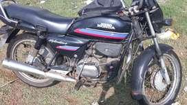 Hero Honda Splendor, test not done