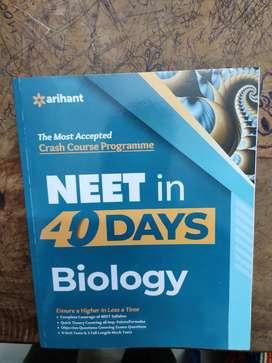 Neet in 40 days biology 2021 arihant edition