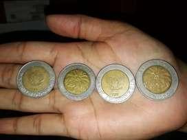 Koleksi uang kuno koin