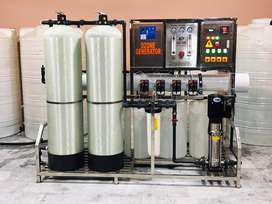RO mineral water plant . Drinking water plant