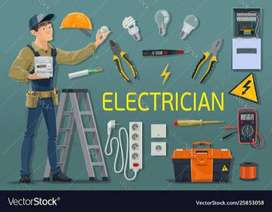 Required Electrician urgently