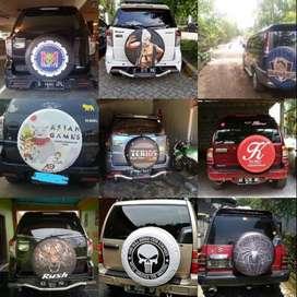 Cover Ban Mobil (jeep, taft, katana, terios, rush, CRV, Escudo) Lebih