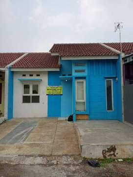 Over kredit Rumah minimalis dalam cluster  one gate system, 3jtaan
