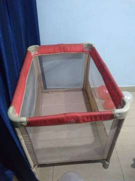 Baby Cot Foldable Bed