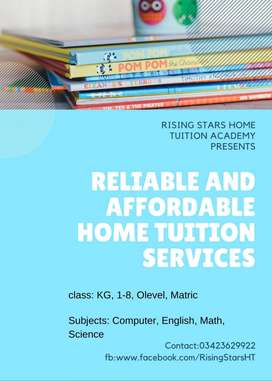 home tutors available for all subjects in karachi