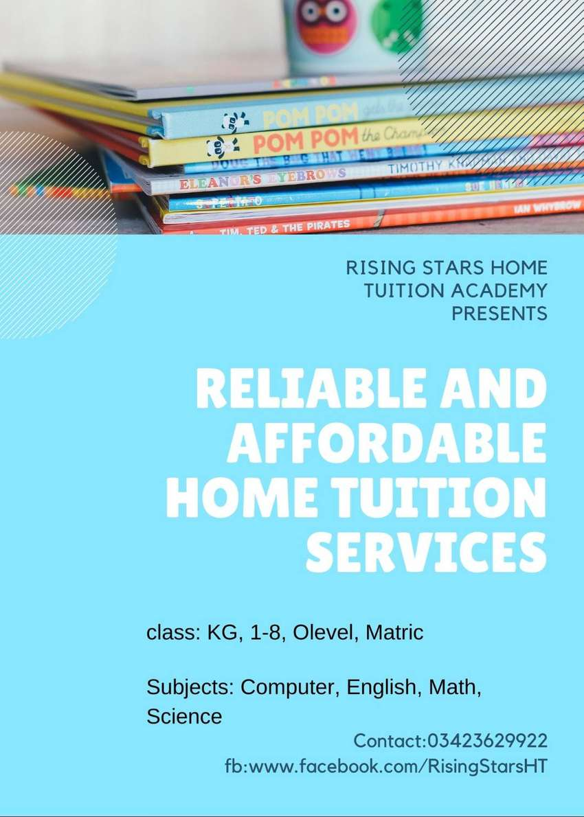home tutors available for all subjects in karachi 0