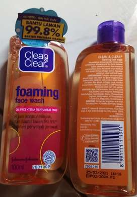 Facial Foaming Wash C&c