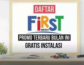 PASANG GRATIS TV KABEL INTERNET FIRST MEDIA