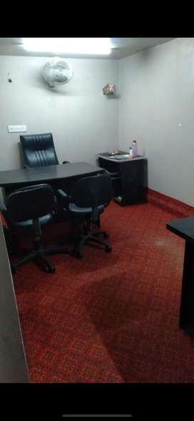 Office cabins available with furniture included