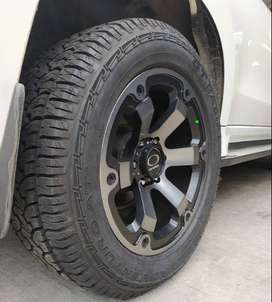 Velg Mobil Pajero Fortuner Hilux  On Amw R20x9.0 H6x139 Et15