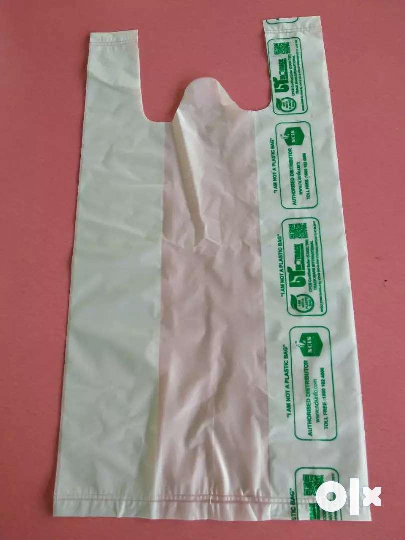 Biodegradable non plastic carry bag 0