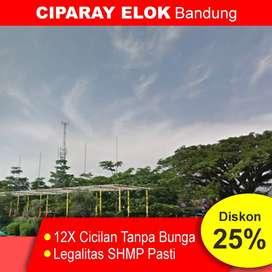 Kavling Tanah Dekat Terminal Ciparay, 950 Rb-an Sertifikat SHM
