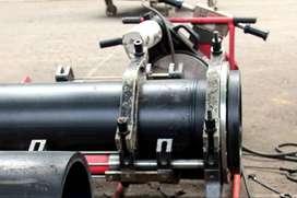 Mesin Penyambung Pipa HDPE 2, 4 clamp Murah