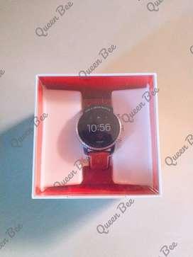 Fossil Smartwatch FTW4016 Gen 4 Explorist HR Tan Leather New Original