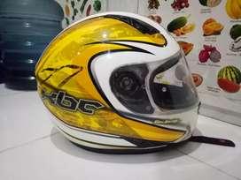 Helm KBC zero yellow kuning mulus