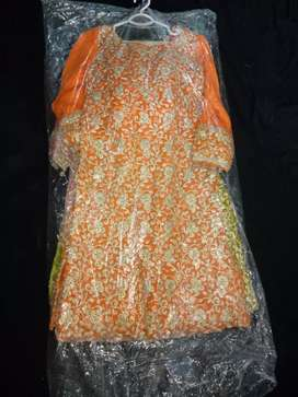 Wedding shirts with dupatta and capry